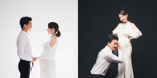"""안소미, D라인 돋보이는 만삭화보 공개 """"시간 진짜 빠르다"""""""
